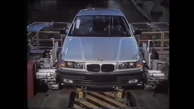 BMW 3-series (E36) - Promo Video (1990-91)
