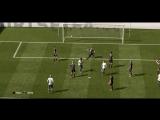 FIFA18 Виллиан забивает гол