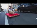 Аладдин прокатился по Нью-Йорку на ковре самолете