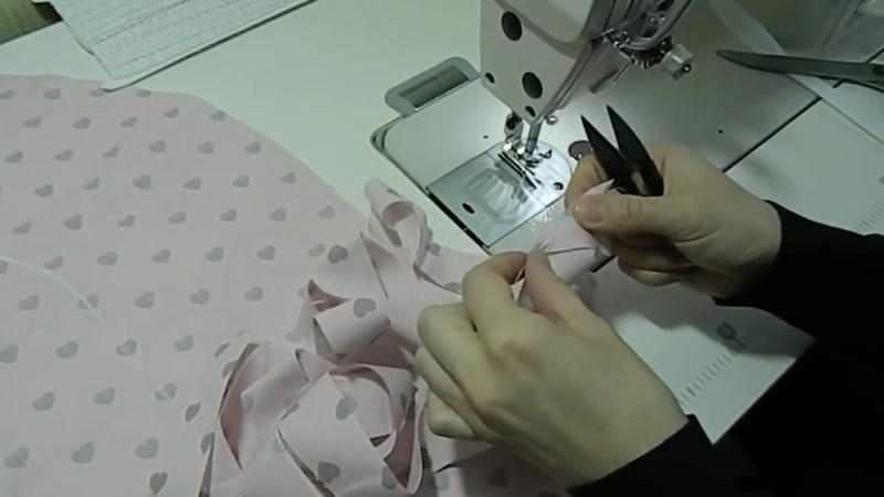 Гнездышко кокон для новорожденных своими руками пошив _ babynest diy English subtitles