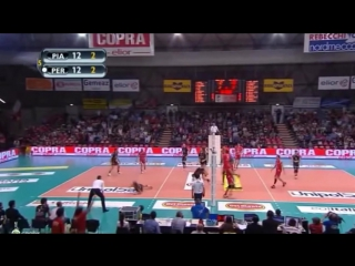 Volleyball monsters show supreme class