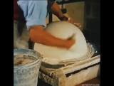 How world globes were made in 1955.
