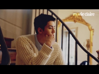 170629 EXO Sehun @ Marie Claire Magazine July 2017 Issue Making Film