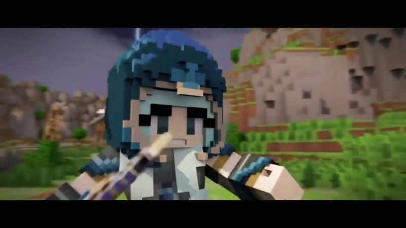 Klip minecraft Voina Music video