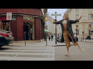 One shot dance video in the street of paris !!