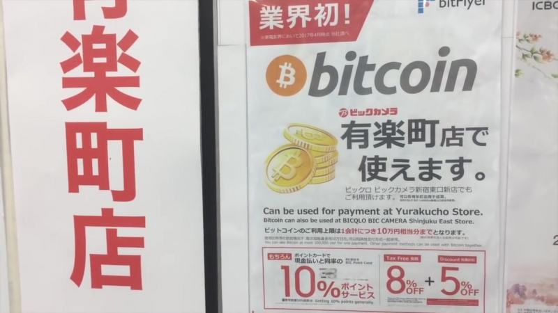 Paying With Bitcoin in Tokyo, Декабрь 2017г BITCLUB NETWORK выпустят пластиковые карты для оплаты товаров, услуг криптовалютой