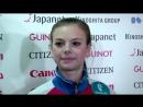 Anastasia TARAKANOVA RUS ISU JGP Final Ladies Feee Skating Nagoya 2017