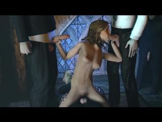 Harry Potter Hermione Granger (Hogwarts Enchanted Episode5) порно гарри поттер мульт