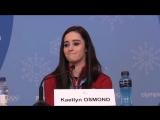 Tessa Virtue, Scott Moir, Kaetlyn Osmond, Cassie Sharpe post-Olympics inteview 23-02-18