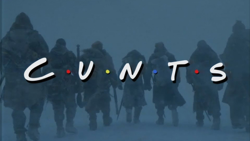 C•U•N•T•S — Игра престолов и Друзья - мэшап Game of Thrones • Season 7 Episode 6 Preview • Friends Parody