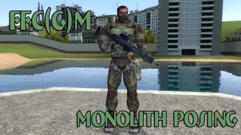 FFCM - Posing Monolith (SHoC Model)