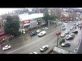 ДТП на Донской в Сочи. 22 декабря в 9:11.