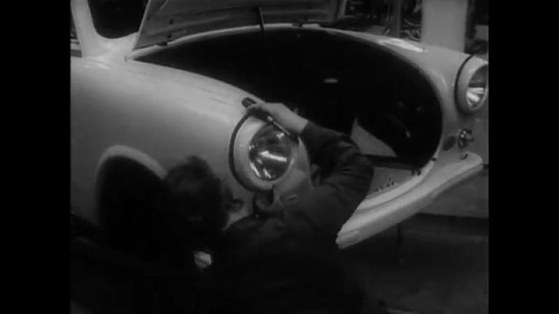 Der Trabant P 50, Werbefilm VEB Sachsenring Zwickau (DEFA 1959)