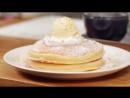 Japanese style Pancakes Hotcake Recipe Cooking with Dog