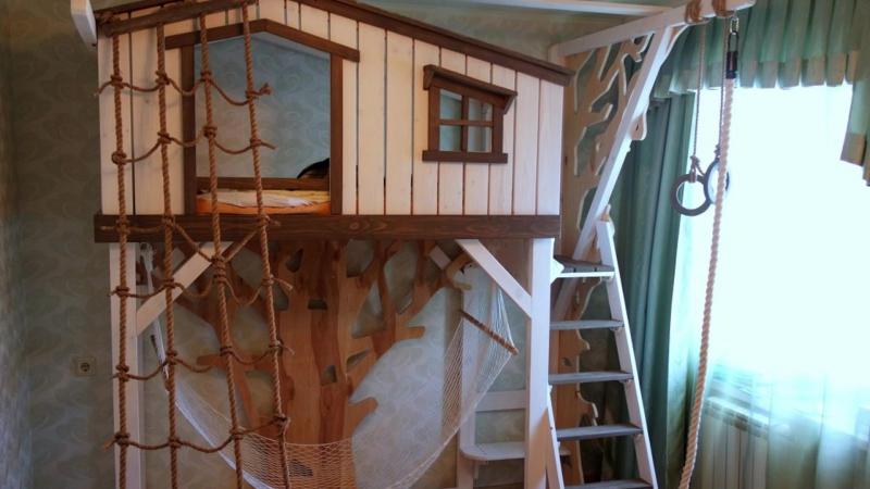 Детские комнаты Вверх Тормашками
