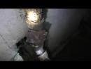 Подвал - канализационный стояк