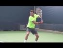 Теннис _ Одноручный бэкхенд _ Замах и разгон ракетки _ Урок 2