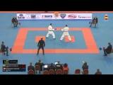 Гвадалахара-2018. Финал в мужском кумитэ до 75 кг