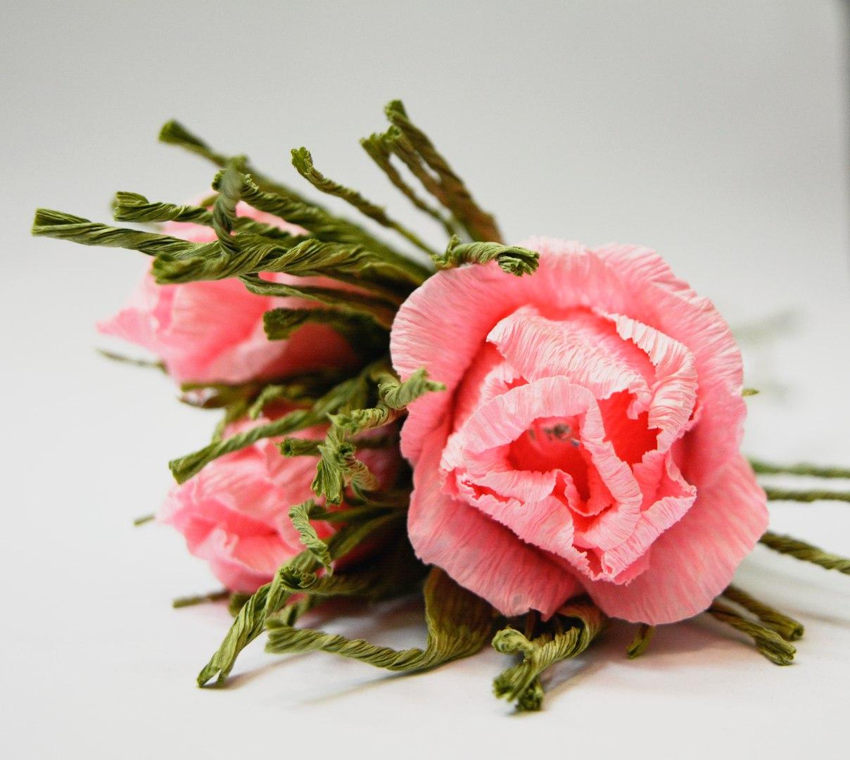 бумажная флористика - розы