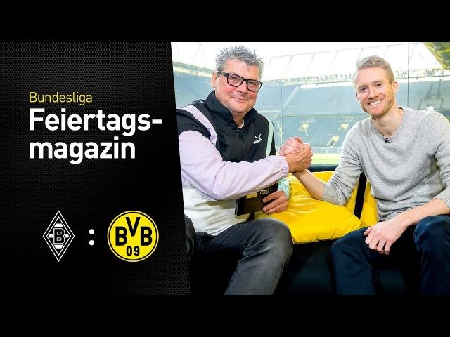 Das BVB total Feiertagsmagazin mit André Schürrle Borussia Mönchengladbach BVB