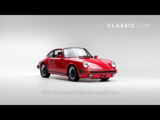 1984 Porsche 911 Carrera Guards Red