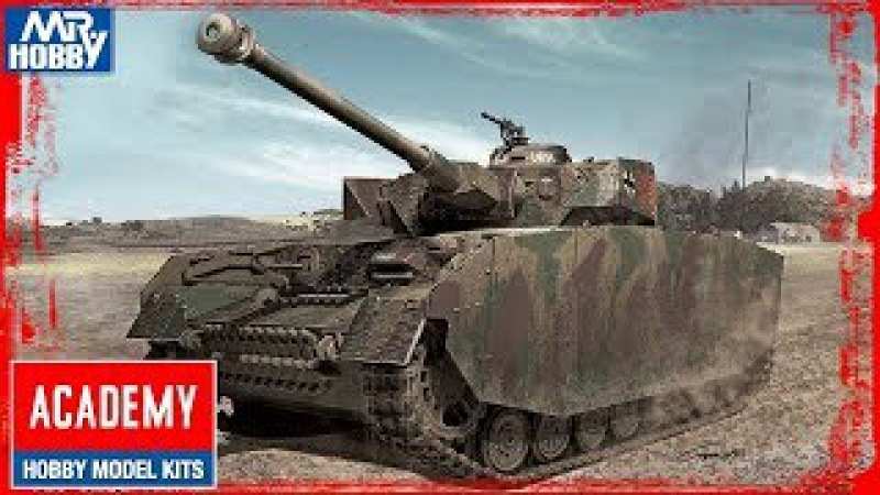 FULL VIDEO BUILD PANZER IV Ausf.H by ACADEMY