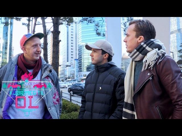 Ylvis-brødrene overrasker Magnus i Sør-Korea   Kjør meg til OL   TVNorge