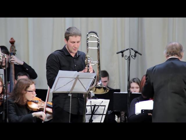 Тихомиров Роман - А.Томази - Концерт для тромбона с оркестром 2,3 части