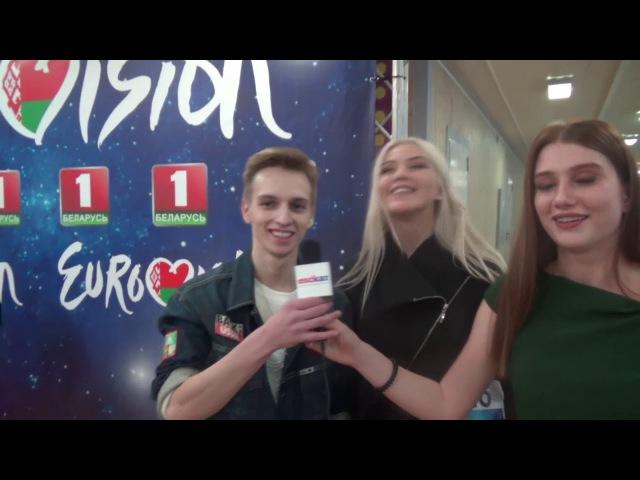 ESCKAZ Live in Minsk: комментарий Виолетты Багинской, Ангелины Пиппер и Ивана Здонюка