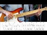 Как играть на гитаре Dire Straits - Money for Nothing with tab