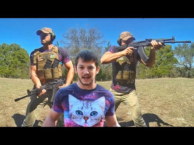 Правильная стрельба из калаша по-ютубячьи | Разрушительное ранчо | Перевод Zёбры