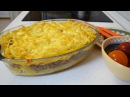 Макаронная запеканка с фаршем в духовке Очень вкусная запеканка из макарон
