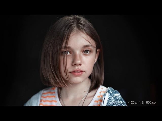 Как фотографировать детей Портретная съемка при естественном свете Съемка с отражателем