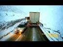 Modern Enigma style - Sadness Love Night. Extreme road Kavkaz mountains Truck travel ride mix