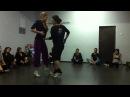 Tango technique, TTC Dana Frigoli y Sara Westin. Импровизация в технике ТТС,