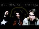 Nirvana - Mejores Momentos, 1988 - 1994 | Kurt Cobain