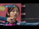【TVPP】 Tzuyu(TWICE) vs Irene(Red Velvet) - Match of archery goddesses @Idol Championship 2018
