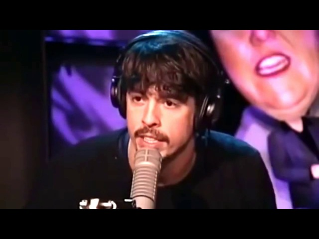 Dave Grohl Taylor Hawkins - Interview (Howard Stern 1998)