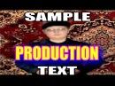 SAMPLE TEXT PRODUCTION Месть Философа PART 2