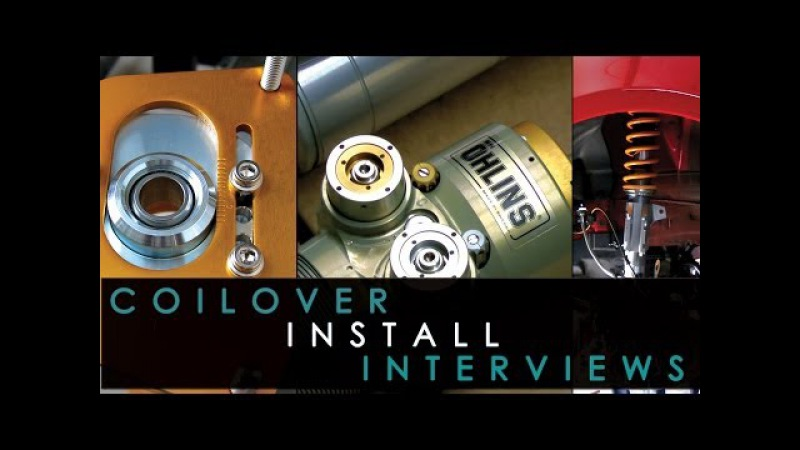 Coilover Install FRS - BRZ - Ohlins Tour and Interview