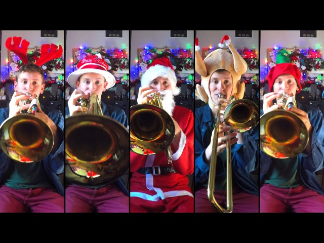 Jingle Bells (Big Band style) for Brass Quintet with sheet music