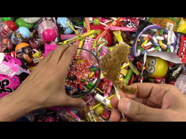 A lot of Candy