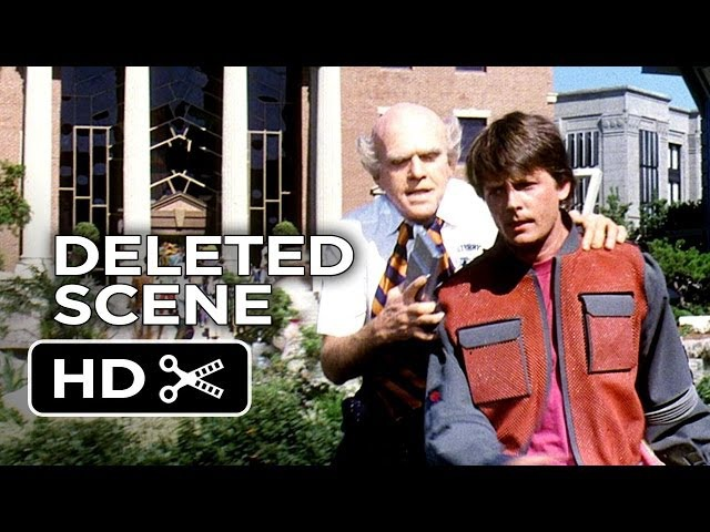 Back to the Future Part II Deleted Scene - Old Terry (1985) - Michael J. Fox Movie HD