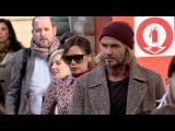 EXCLUSIVE David Beckham and wife Victoria Beckham arriving in Paris