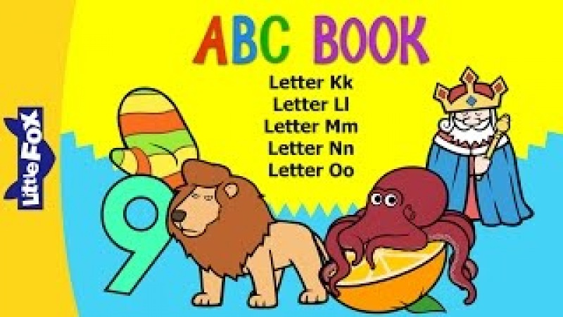 ABC Book: K-O | Level 1 | By Little Fox