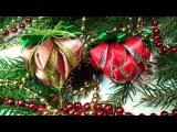 Игрушки на Елку канзаши, Делаем Новогодние Игрушки Своими Руками, DIY Christmas Crafts ideas