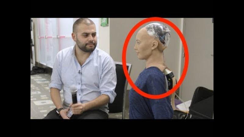 Роботы издеваются над людьми, ШОК-КОНТЕНТ