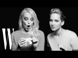 Jennifer Lawrence and Emma Stone Have a Lot in Common  Screen Tests  W Magazine