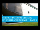String Transport Systems: on Earth and in Space — Part 1