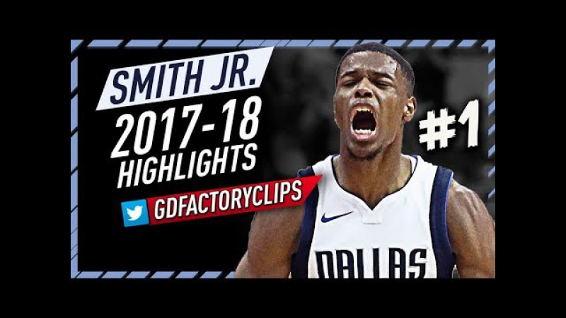 Dennis Smith Jr. Rookie Offense Highlights 2017-2018 (Part 1) - Making NBA Debut!